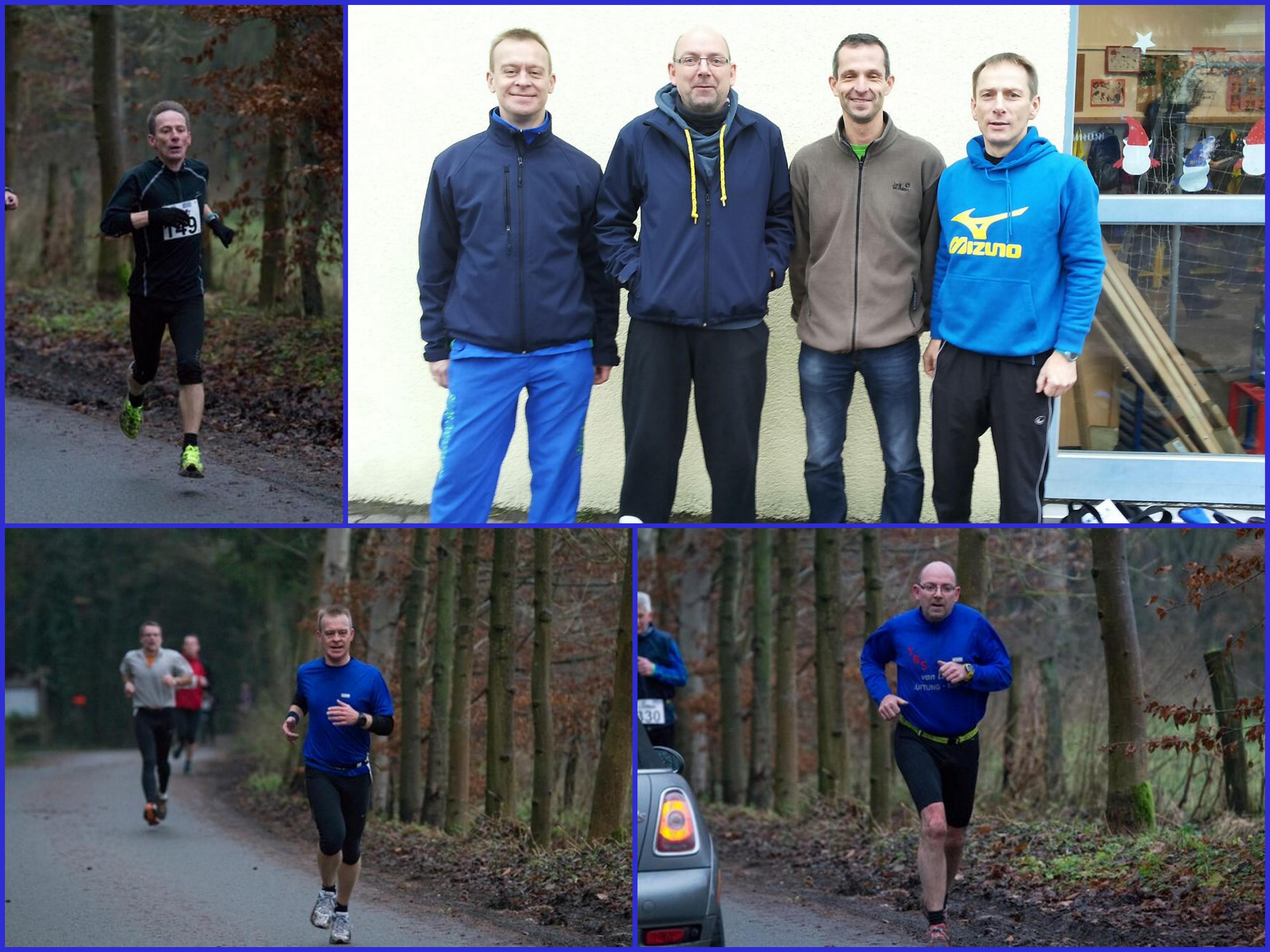 21.12.2014 - Weihnachtslauf Lipperreihe - Laufgruppe SV 06 Oetinghausen